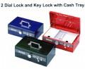 ELM 8850 鎖匙+雙重密碼錢箱 ** 缺貨 **