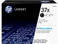 HP 37X 高容量黑色原廠 LaserJet 碳粉盒(CF237X)