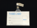 B-032B 磨沙硬橫證件牌(橫身)