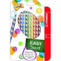 STABILO EASYcolors 331/12 左手專用的力學設計木顏色筆(12色)