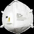 3M 9010V N95 摺合式活門防塵口罩(獨立裝)(20個/盒)