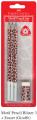 FABER 118391 3支裝長頸鹿紋三角鉛筆+擦膠