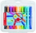 STABILO Cappi Pen 168/18-1 水筆(18色套裝)