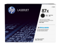 HP 87X 高容量黑色原廠 LaserJet 碳粉盒 (CF287X)