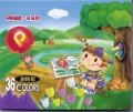 PENTEL PHN-36H 油粉彩(36色紙盒裝)