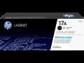 HP 17A 黑色原廠 LaserJet 碳粉盒(CF217A)
