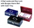 ELM 8855 鎖匙+雙重密碼錢箱 ** 缺貨 **