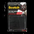 3M Scotch® 762 超強力魔術貼(蘑菇搭扣設計) - 黑色<戶外用>