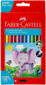 FABER 111622  12色珍寶六角木顏色