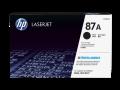 HP 87A 黑色原廠 LaserJet 碳粉盒 (CF287A)