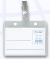 GLOBE GN706C 105X70mm 橫身軟膠證件牌(附吊夾)