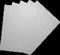 HOLLIES A3 0.4mm PVC 釘裝封面(磨砂透明)-50張裝