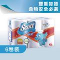 絲潔 SCOTT - 廚房萬用紙6卷裝(台灣製造)