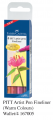 FABER 167005 PITT 美術畫筆(4支套裝) Fineliner (Warm Colours)