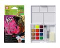 SAKURA XNCW-12MH Koi Water Colors Creative Art Colors Set 水彩磚(12色)