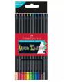 FABER-CASTELL  116412 12色超軟芯木顏色筆