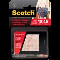 3M Scotch® 6730 超強力魔術貼(蘑菇搭扣設計) - 透明色<戶外用>