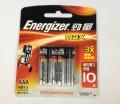 勁量 Energizer® MAX® AAA 鹼性電池(4粒)