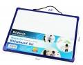 Kidario KWB-3040-A3 膠框磁性白板(30x40cm) 淨板