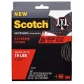 3M Scotch® 6761 超強力魔術貼(蘑菇搭扣設計) - 黑色<戶外用>