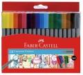 Faber-Castell 555818 18色幼線水筆(0.4mm)