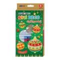 AMOS SD10P6-CH2 6色玻璃彩連6小掛牌套裝(聖誕版)