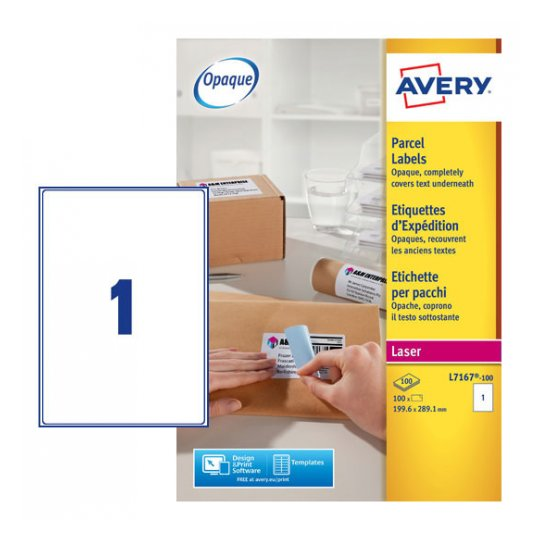 avery laser ink jet labels a4 size 100 sheets wah chit