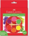 Faber-Castell 125006 6色珍寶螢光水彩顏料盒