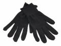 女裝針織尼龍手套(黑色/白色)