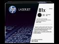 HP 81X 高容量黑色原廠 LaserJet 碳粉盒  (CF281X)